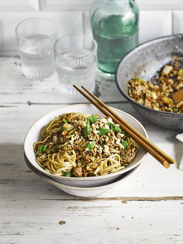 Dan dan noodles noodle easy and recipes dan dan noodles healthy fast foodfast foodsolive recipeschinese forumfinder Choice Image