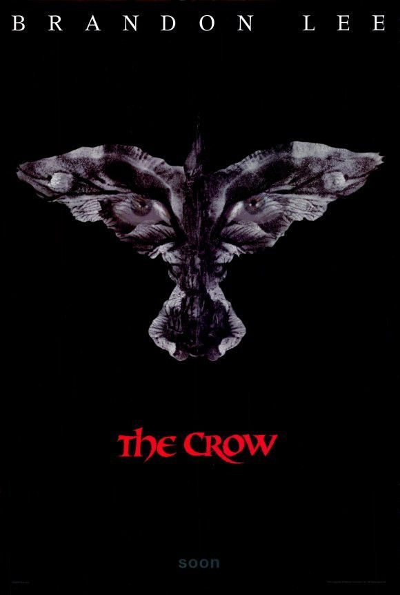 the crow 11x17 movie poster 1994 in 2018 movie tv series art