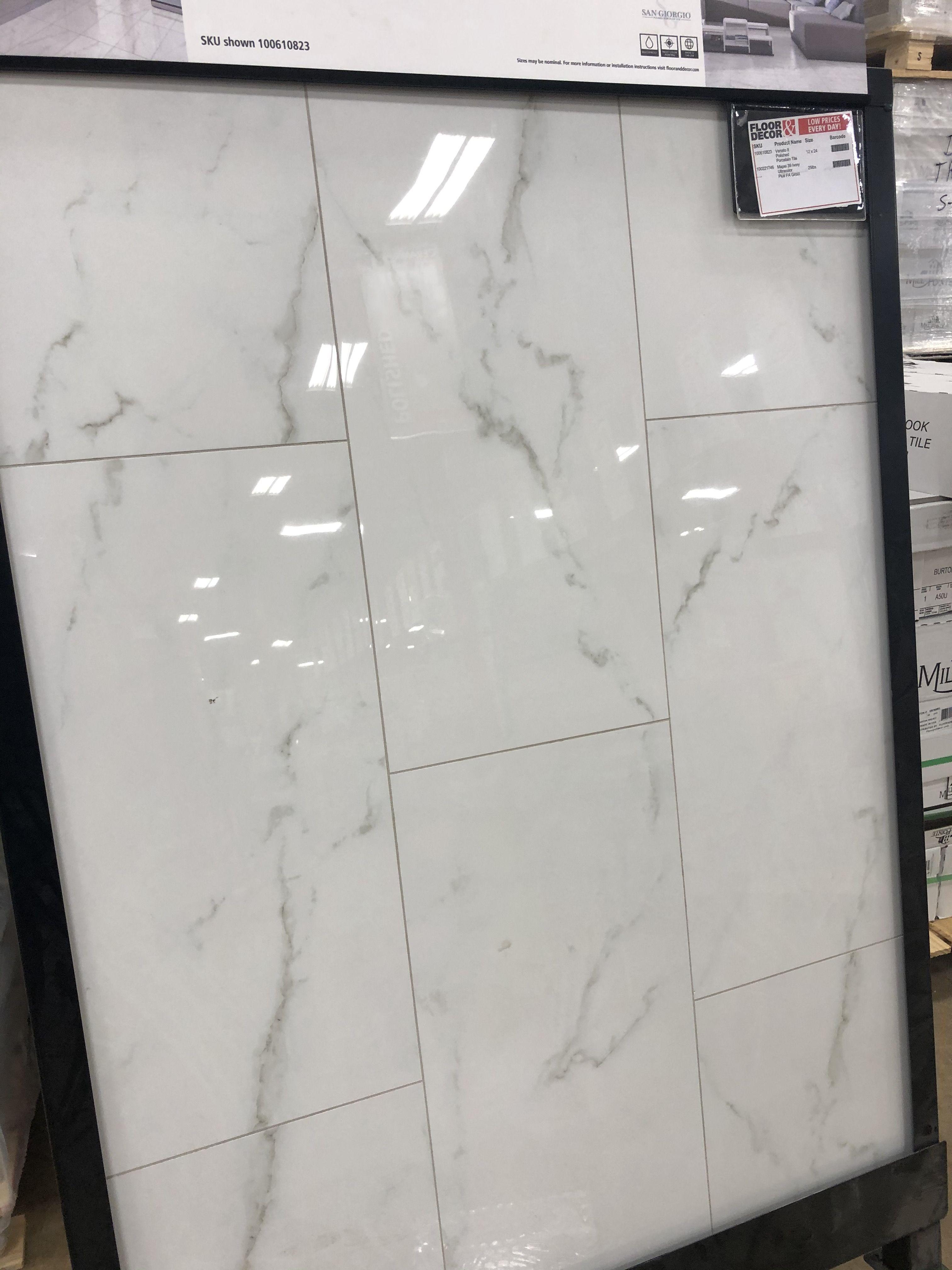 Venato Ii Polished Porcelain Tile In 2020 Marble Shower Walls Large Tile Bathroom Shower Wall Tile