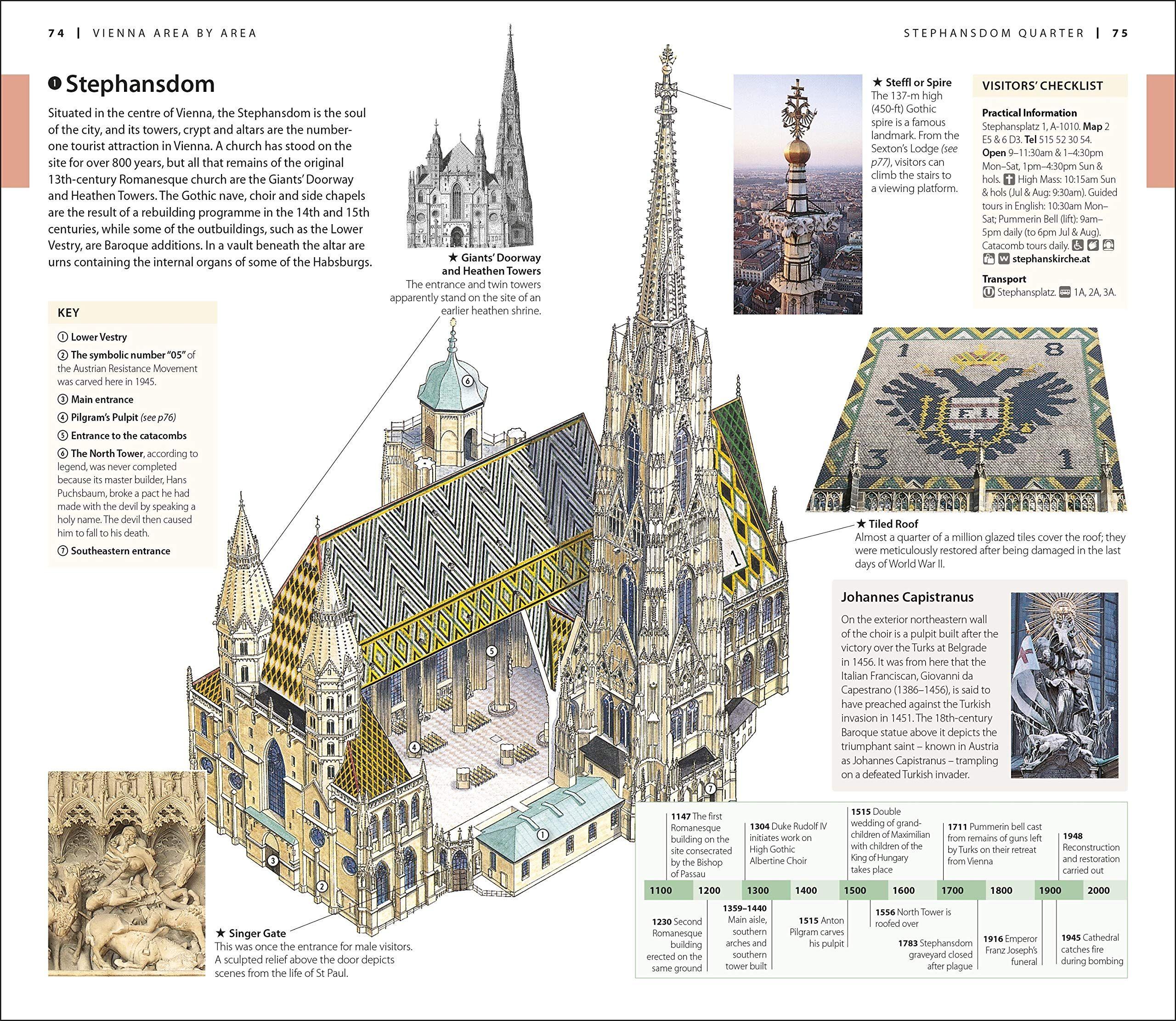 DK Eyewitness Travel Guide Vienna Paperback ¨C April 16