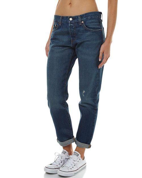 Levi's 501 Ct Jeans For Women Cali Co Straight Damen