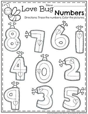 Valentine\'s Worksheets | pre K ideas | Pinterest | Mathe und Kind