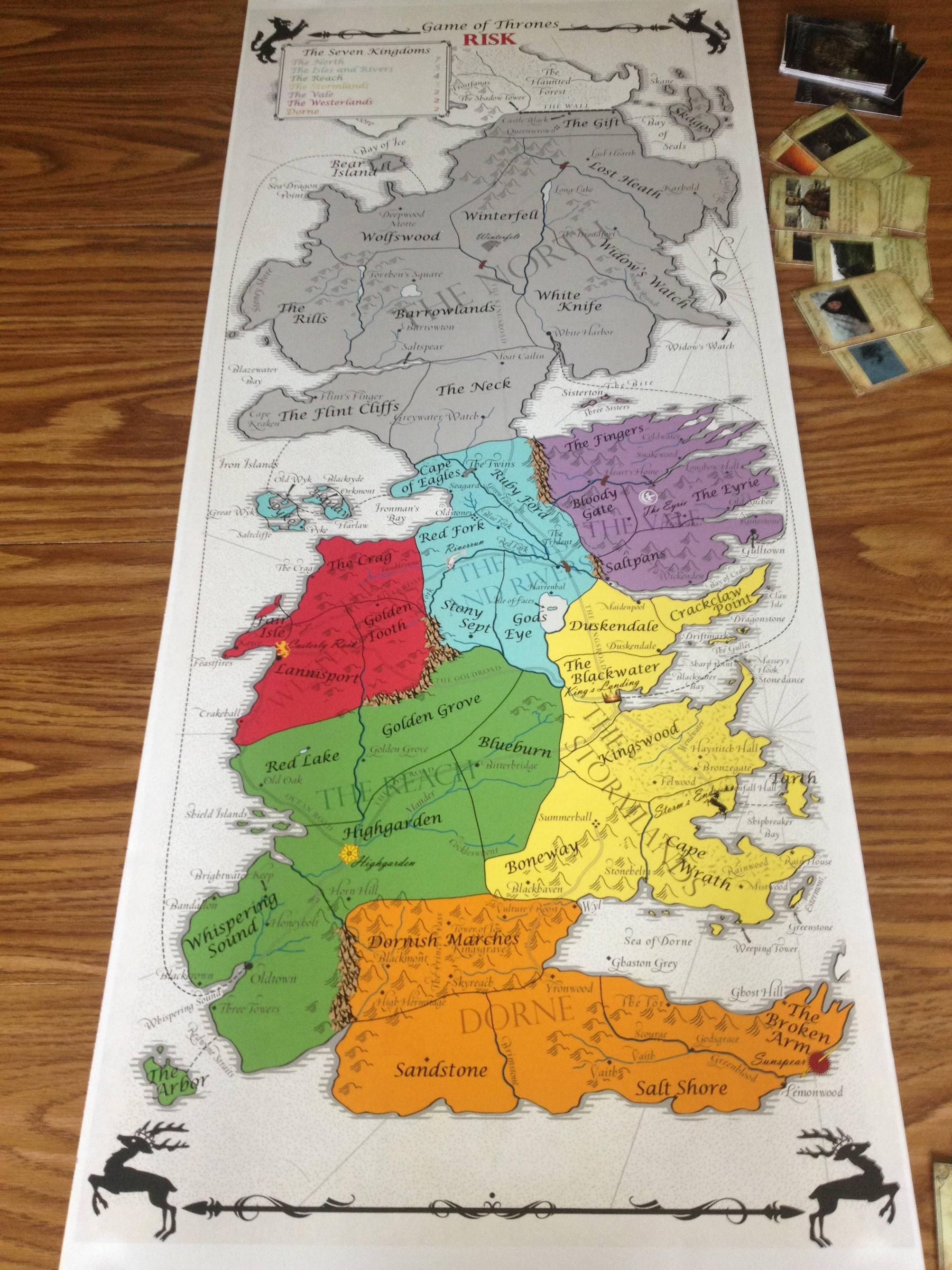 Game of Thrones Risk Game! There are no ifs, ands or buts.... I need this game!