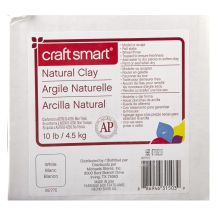 Craft Smart Natural Clay White Clay Crafts Pottery Crafts