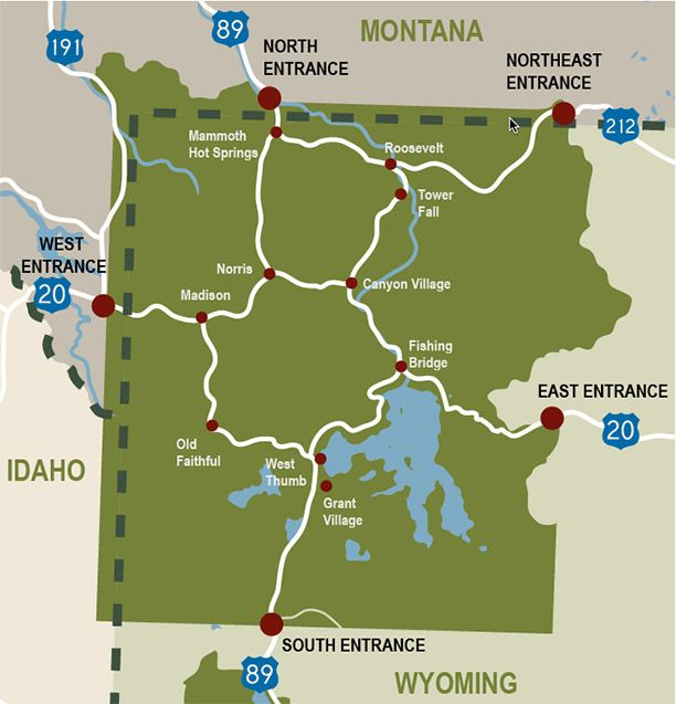 The Ultimate Travel Guide to Yellowstone Yellowstone national
