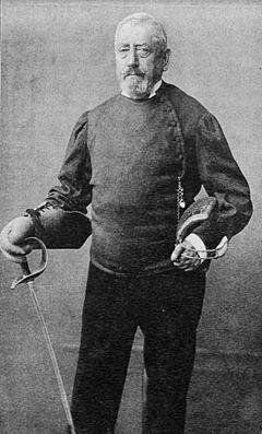 """József Keresztessy (d. 1895), the """"father of Hungarian sabre fencing"""""""