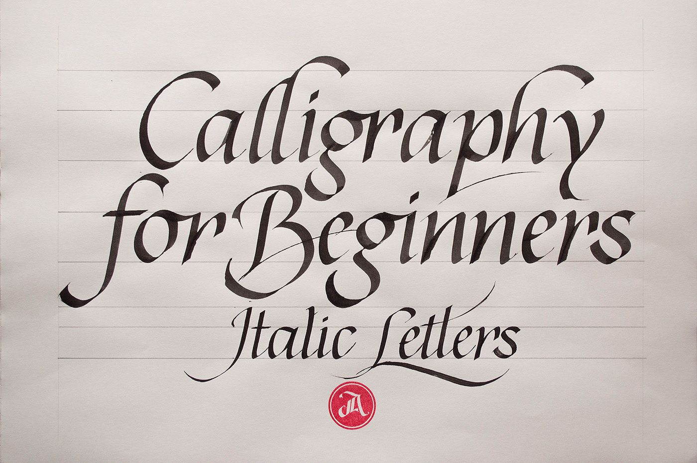 Online Calligraphy Class 2 The Elegance Of Italics On