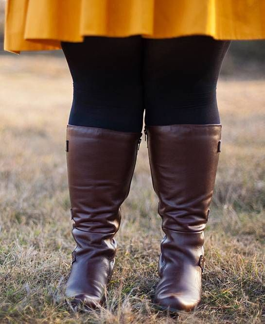 plus size wide calf boots - Sizing