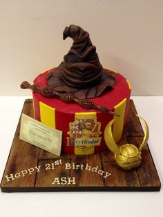 harry potter one tier birthday cake ideas Google Search Birthday