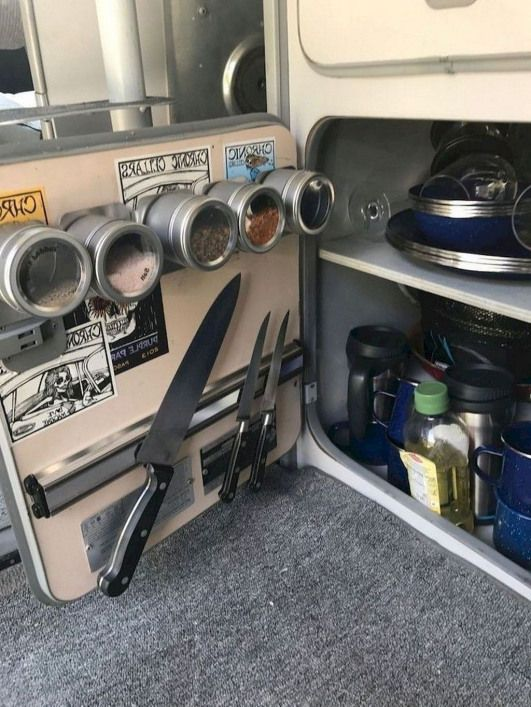 45 Relaxing Rv Camper Storage Ideas For Prepare Spring Summer Vacation