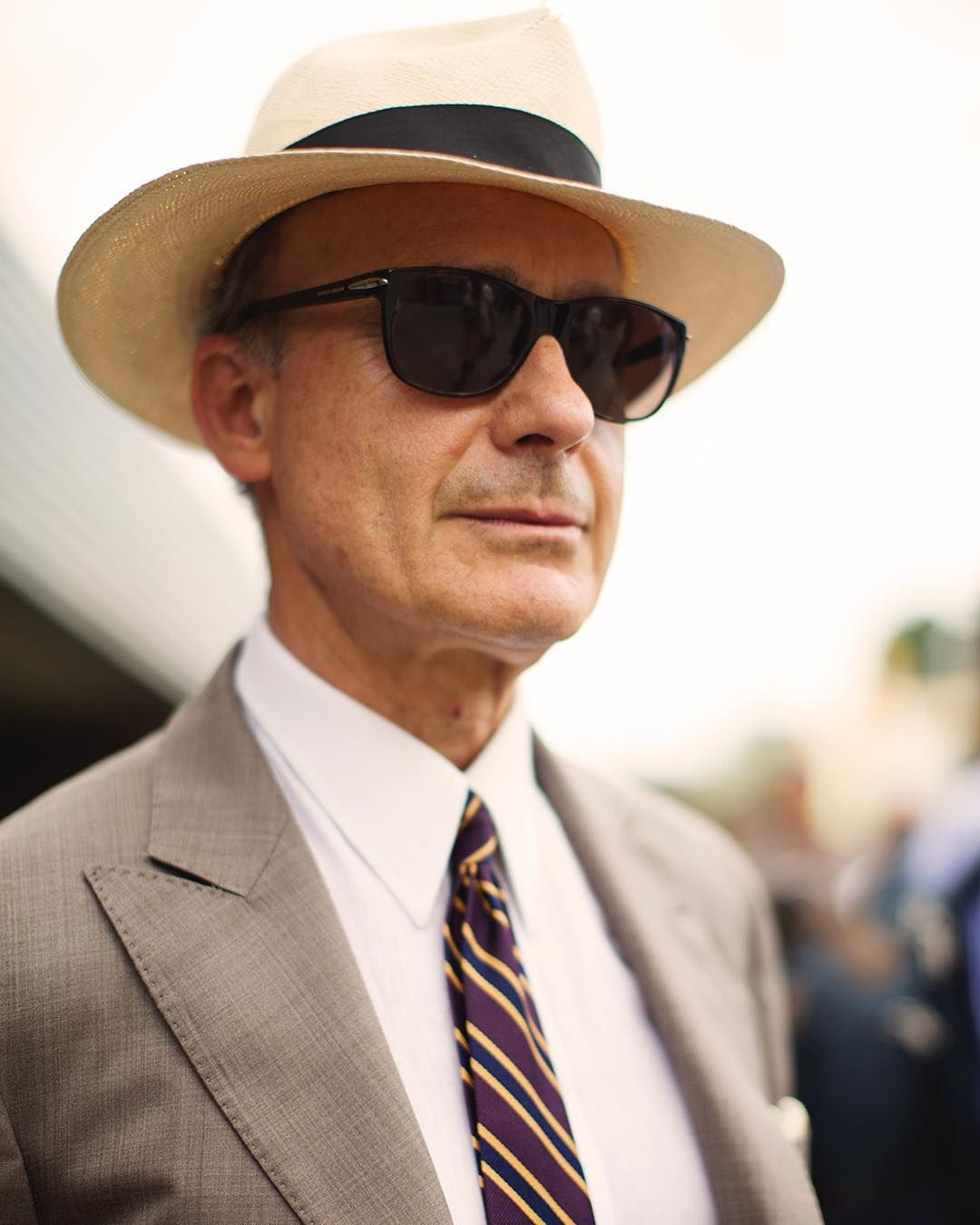 thesartorialist Il Capo! I don't know if that's correct ...