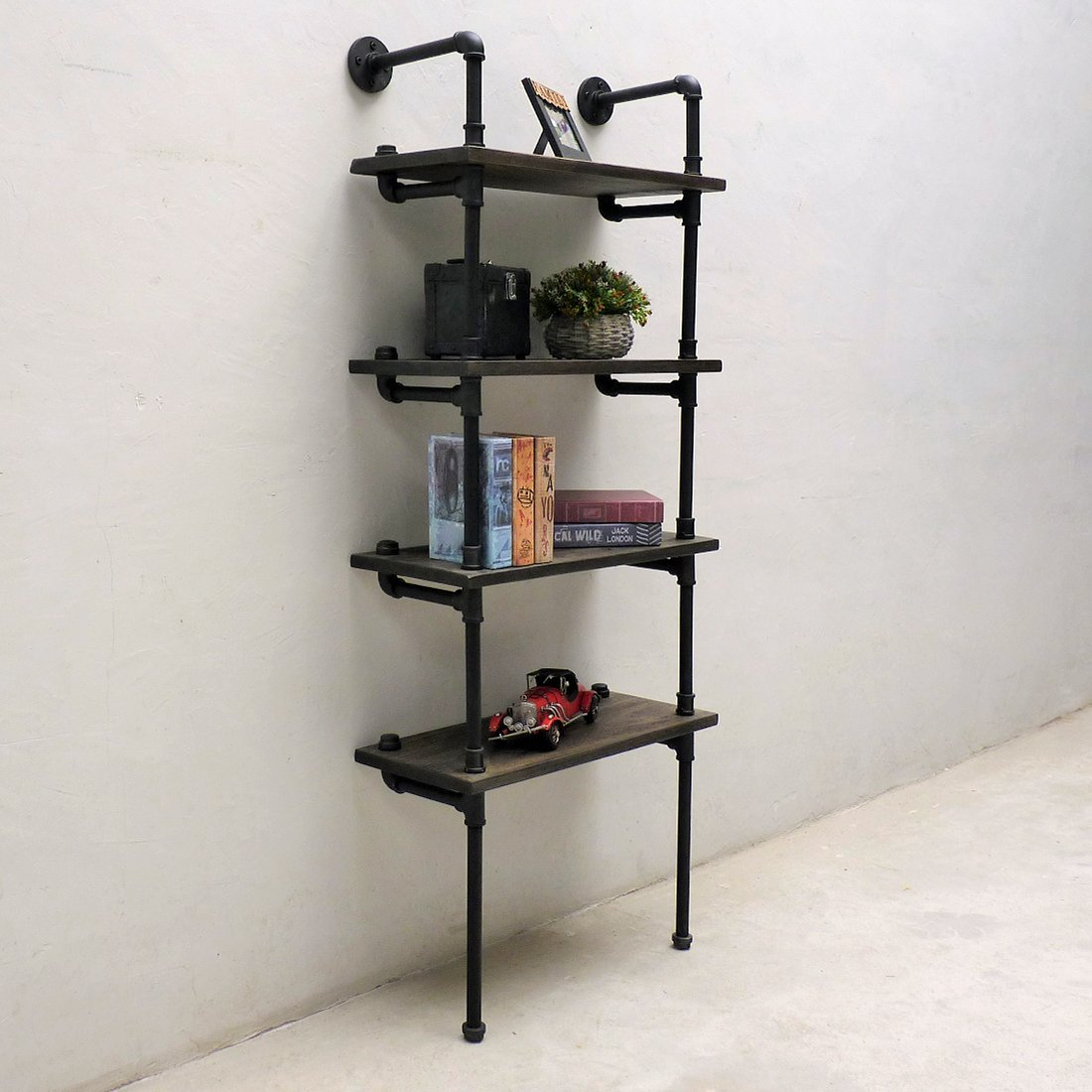 Superb Sacramento Industrial Chic Etagere Bookcase Display In 2019 Home Interior And Landscaping Ymoonbapapsignezvosmurscom