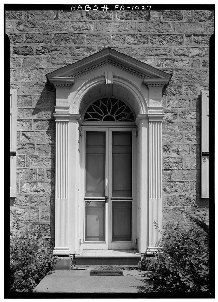 Henry Fisher House State Route 622 Oley Township Yellow House Berks County Pa Stone Houses Architectural Elements Architecture Details