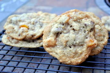 Chocolate Chip Apricot Cookies- Made these and they were yummy! :)