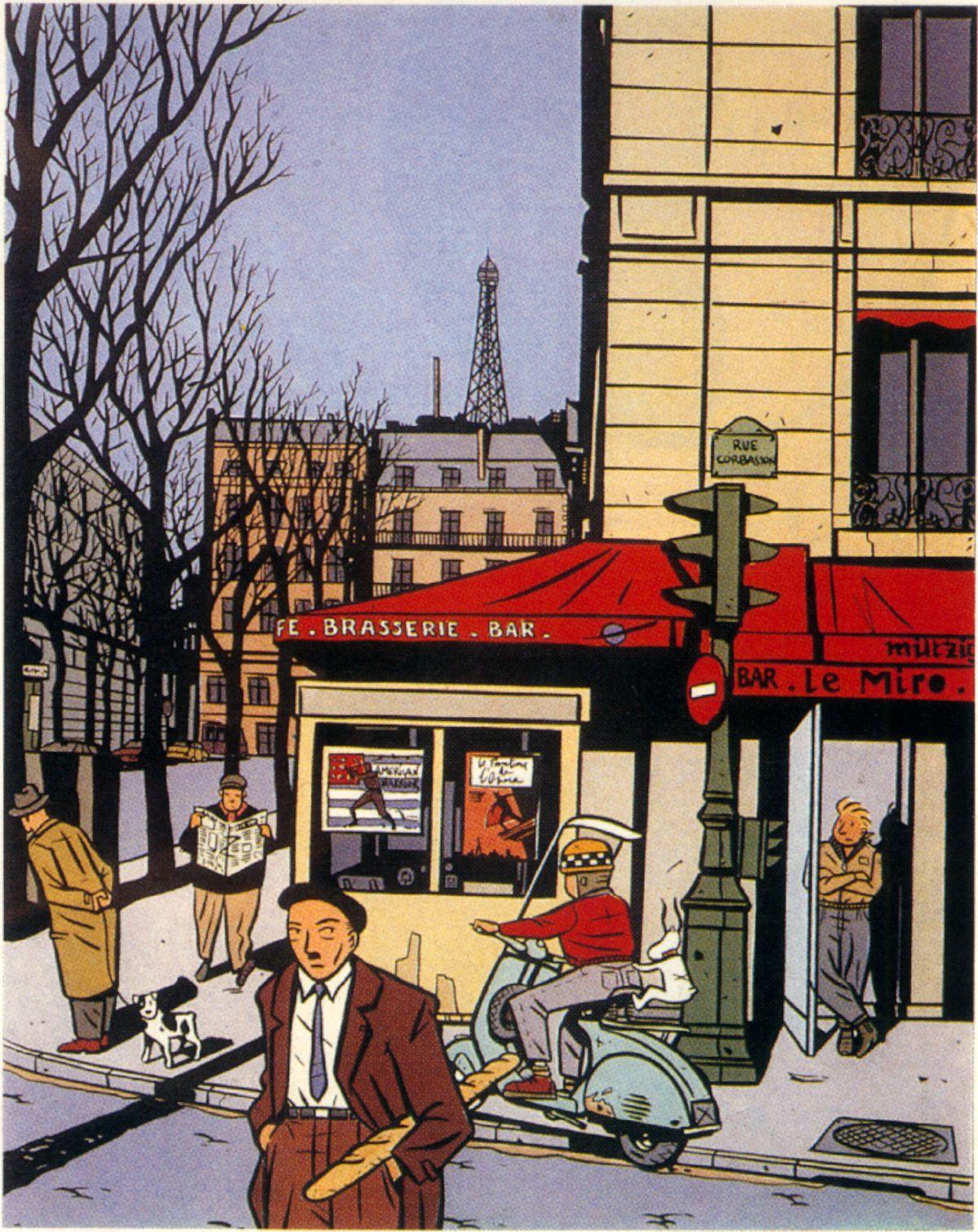 """François Avril, """"Le Voleur de Ballerines,"""" 1986"""