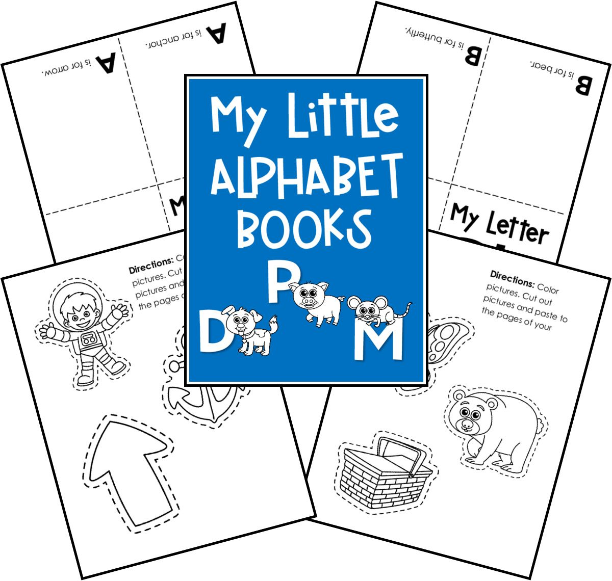 Alphabet Practice Diy Books