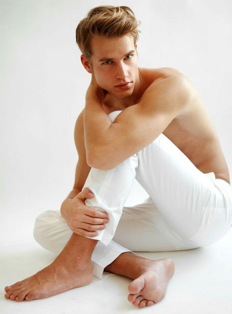 männliche blonde models