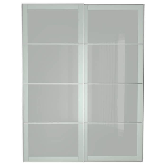 IKEA SEKKEN Pair of sliding doors Couple room, Small closets