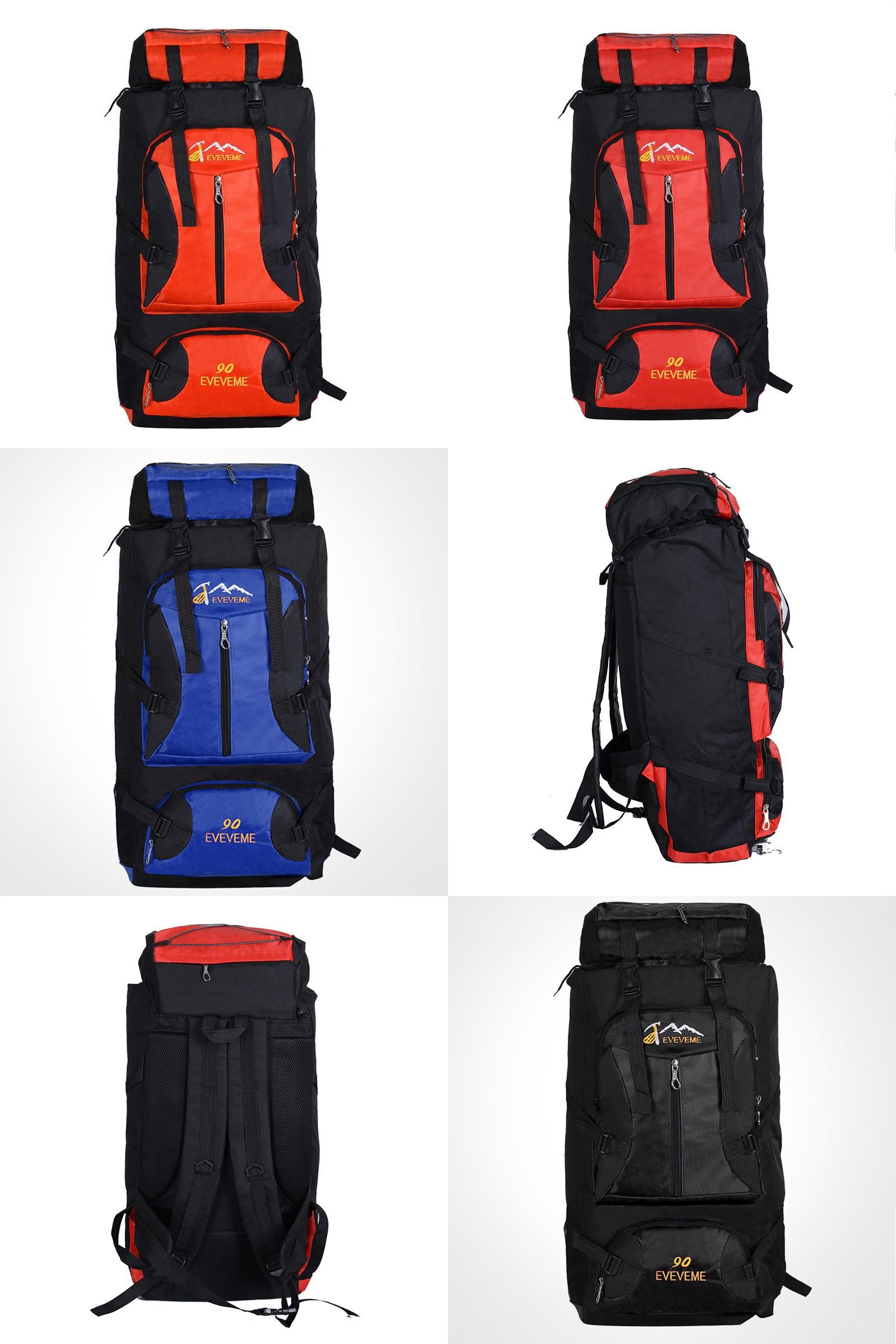 410f727cd53e  Visit to Buy  Large 90L Outdoor Backpack Unisex Travel Multi-purpose  climbing backpacks