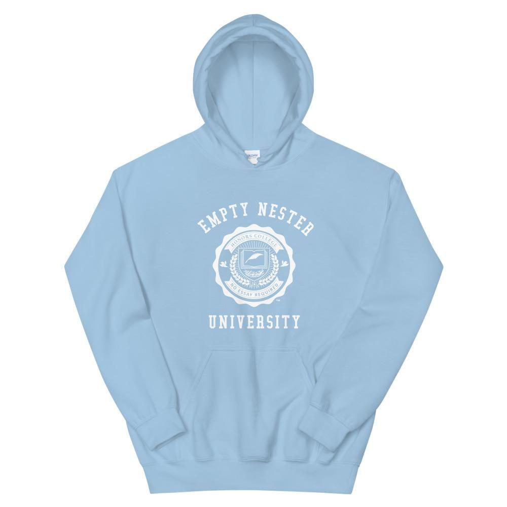Empty Nester University - Unisex Hoodie - Light Blue / XL