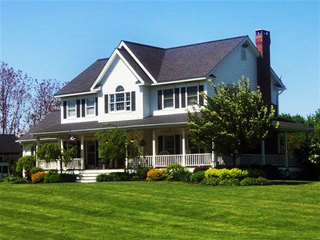The Pic Said It Has A Large Country Kitchen Inside With That Wrap Around Porch And Nice Yard