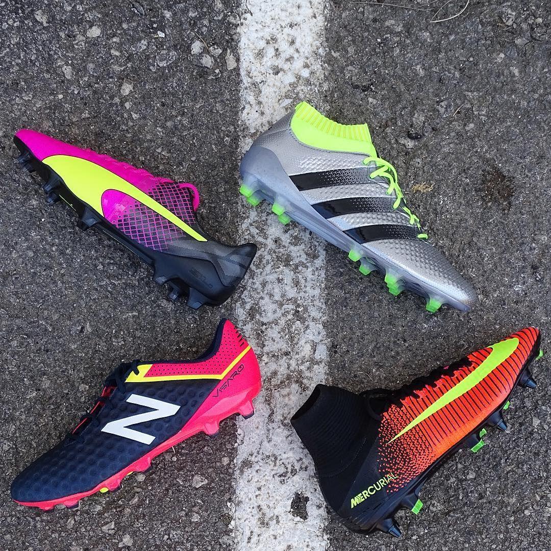premium selection 72569 88ab1 Puma, Nike, Adidas y New Balance, cuatro grandes marcas ¿Cuál es tu  favorita   evospeed  mercurialsuperflyV  ACE16  visaro