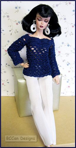Silkstone repaint in sweater by Watbetty | Flickr - Photo Sharing!
