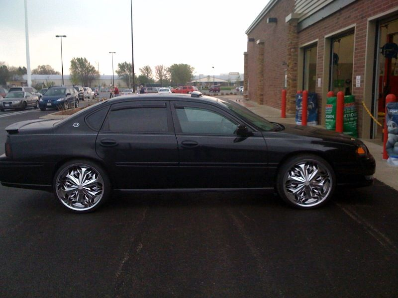 chevy impala on 22 inch rims find the classic rims of your. Black Bedroom Furniture Sets. Home Design Ideas