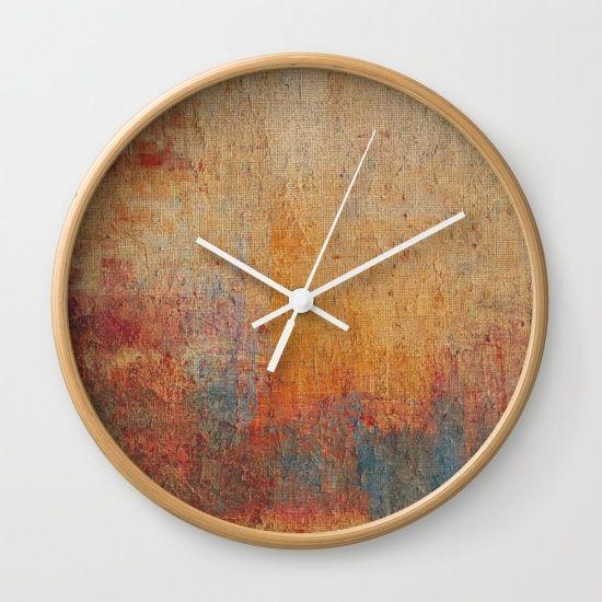 Laguna Colorada Wall Clock