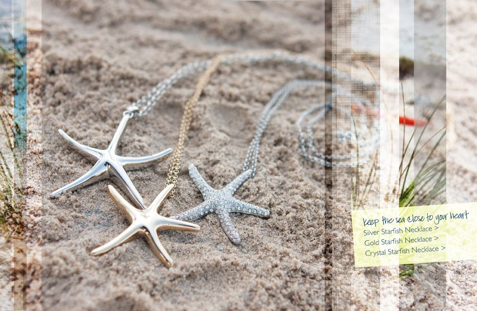 ...because what's summer without a starfish necklace? Keep the sea close to your heart.