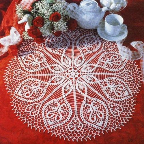 Free Crochet Doily Patterns Charts Solidique27
