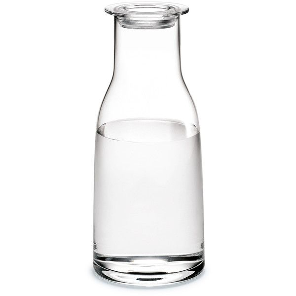Holmegaard Minima Carafe Clear - Medium ($33) ❤ liked on Polyvore featuring home, kitchen & dining, serveware, filler, home decor, food and drink, kitchen, wine stopper and wine carafe