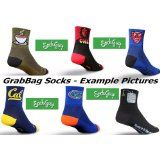 6 PAIRS - SockGuy, Defeet or Balega Stretch-to-Fit Coolmax Athletic Socks - Grabbag design - We Select You Save Big!! LongsCycle Selects Design - You Save!! (Misc.)  Buy it. Get Cheap Prize in here ! :)