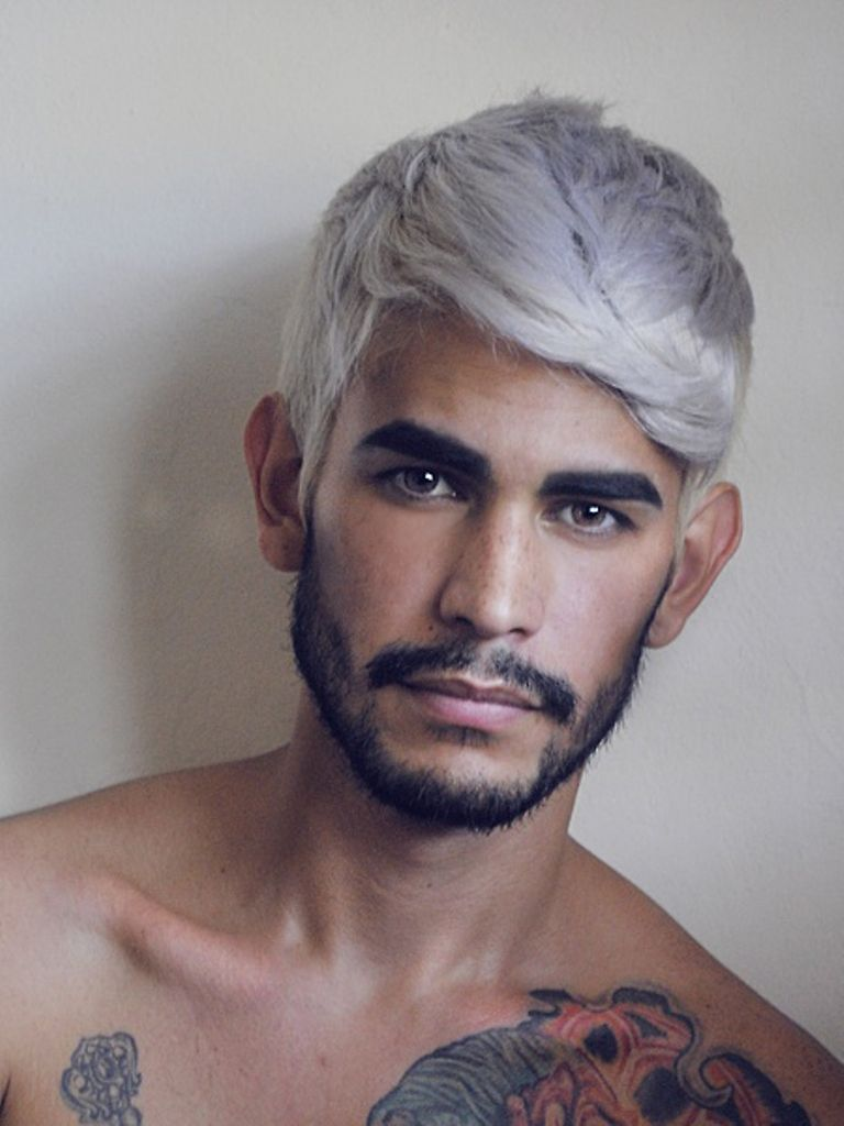 2017 Men\'s Hair Color Trends | Hair coloring, Mens hair and Hair style