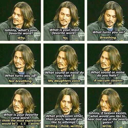 Funny Interview Question Answers From Johnny Depp 3 Johnny Depp Funny Funny Interview Johnny Depp Quotes