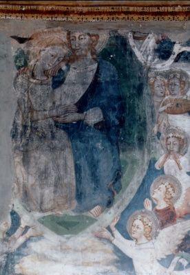 Cristo e Maria, Cristo sposo e la Chiesa sposa, coro del Monastero di Santa Maria di Monteluce, Perugia.