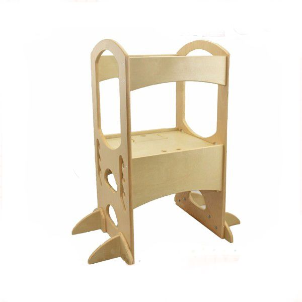 Adjustable Height Kids Kitchen Step Stool Learning Tower