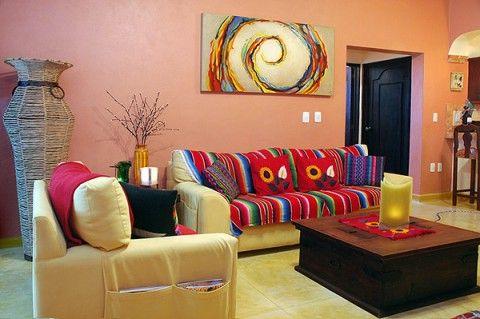 Decoracion estilo mexicano quiero mi casa estilo etnico mejicano andino marroqui - Estilo etnico decoracion ...