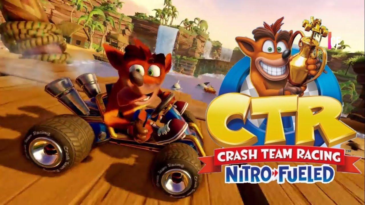 Crash Bandicoot PS1-1 2 3 Crash Team Racing Set Of 4 Disc