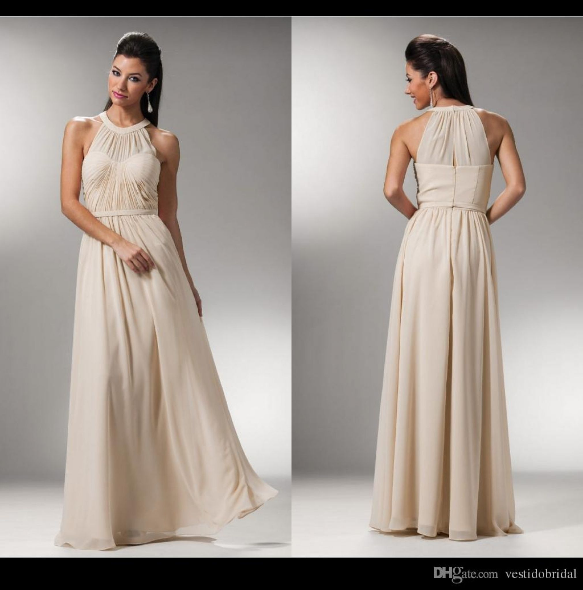 Simple halter wedding dresses dresses for guest at wedding check
