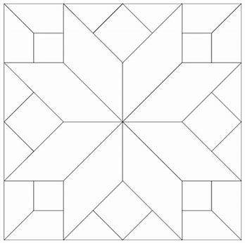 Image result for Barn Quilt Pattern Templates Block