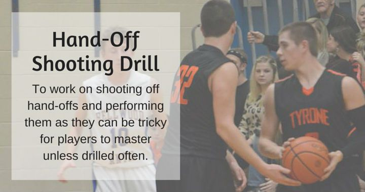 Hand-Off Shooting Drill