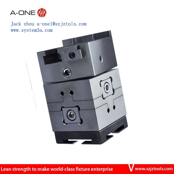 A-ONE 3R Rotatable pendulum wire cut EDM vise which use on 3R system ...