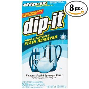 Dip It Coffee Pot Stain Cleaner