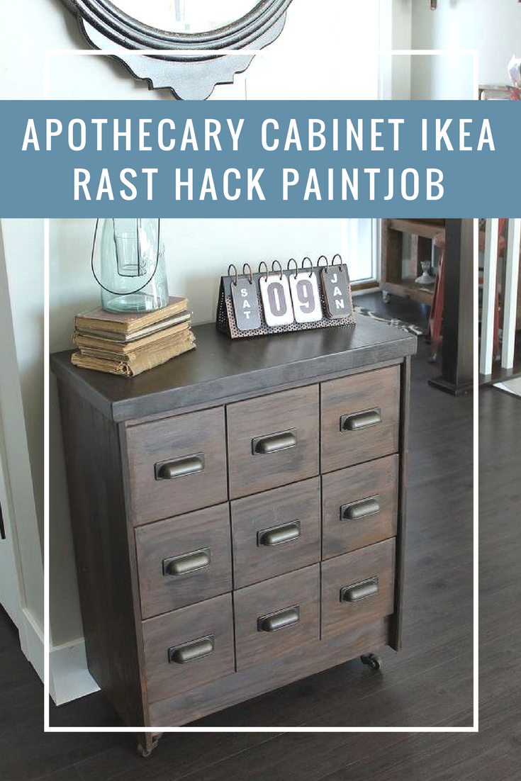 DIY Apothecary Cabinet Hack   What Can You Make Out Of An Ikea Rast Cabinet?