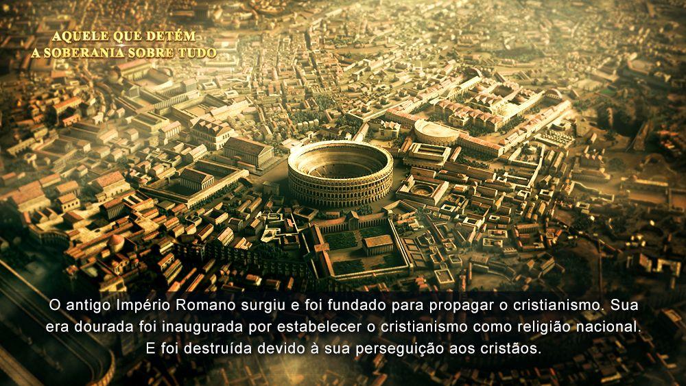 O Antigo Imperio Romano Surgiu E Foi Fundado Para Propagar O