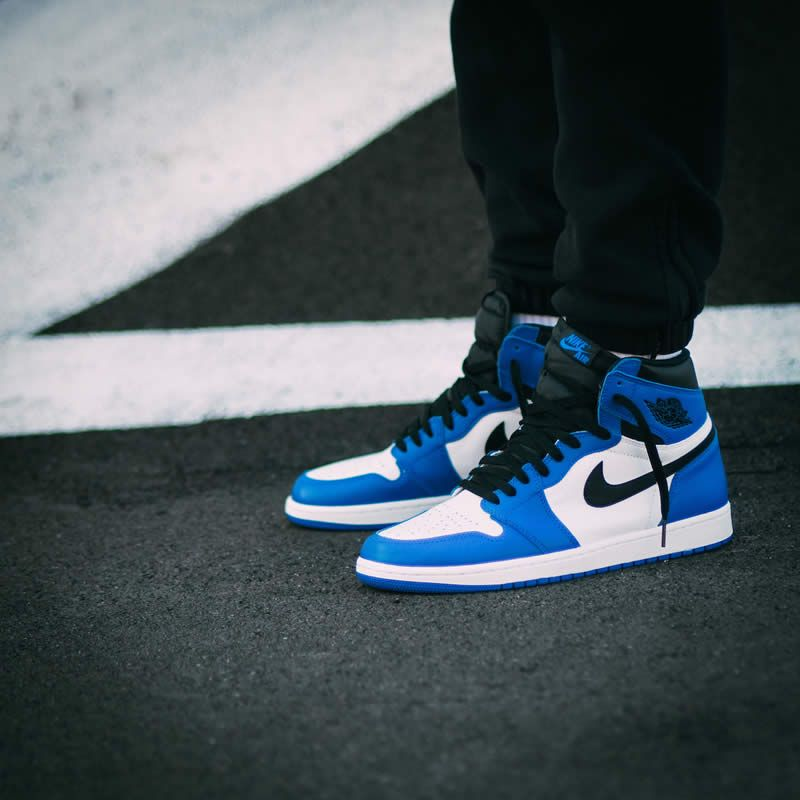Air Jordan 1 Retro Og Game Royal Blue Womens Gs Shoes 575441 403