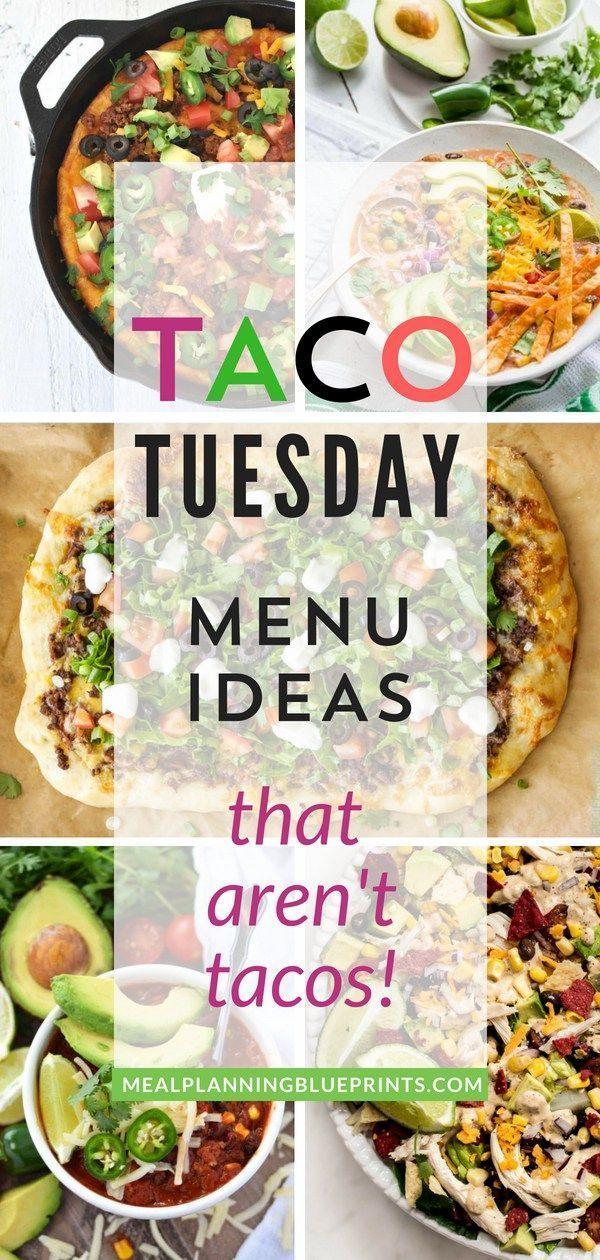 10 Fresh Taco Tuesday Menu Ideas