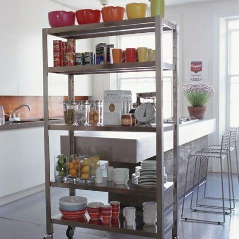 Ideas para almacenaje y división de ambientes en la cocina   Ideas ...