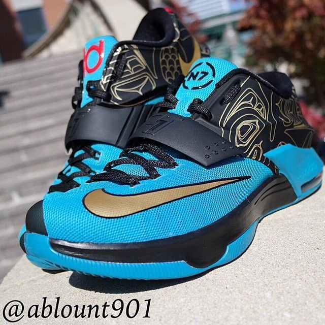 online store 46ae2 fac2a Nike KD7 N7 Detailed Pictures